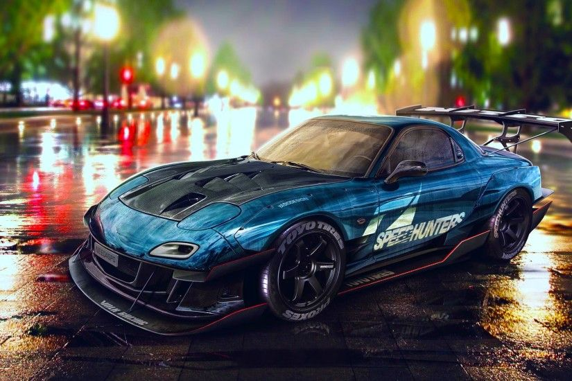 car, Mazda RX 7, Tuning, Need For Speed Wallpapers HD / Desktop and Mobile  Backgrounds