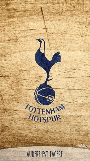 donioli 0 0 Tottenham Hotspur logo wallpaper for phones :) by donioli