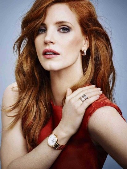 Jessica Chastain looking stunning at a photoshoot