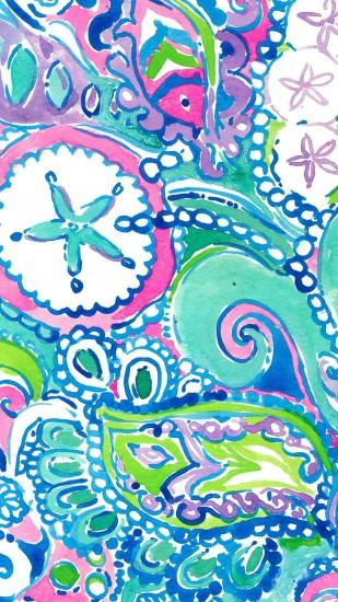 cool lilly pulitzer backgrounds 1242x2208 for android tablet