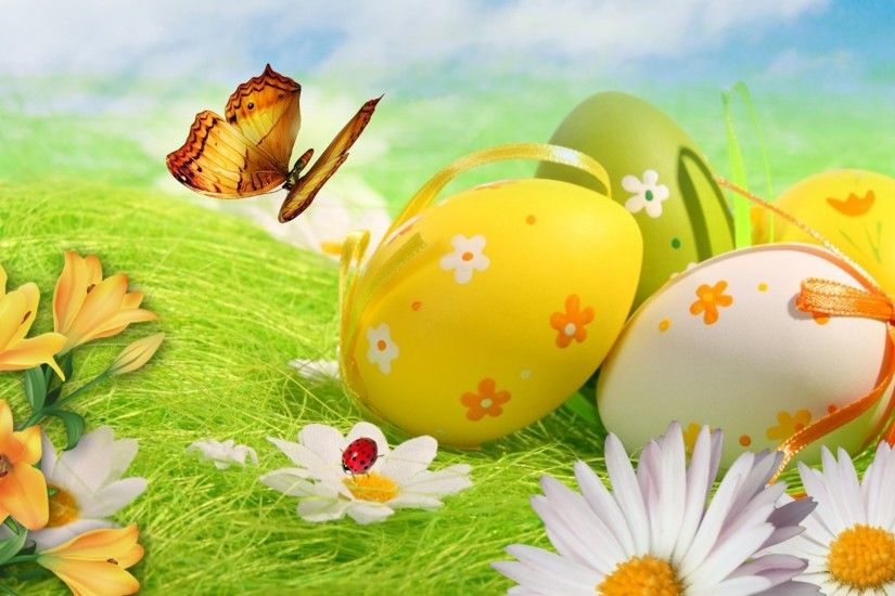 Easter wallpaper · Happy Easter!