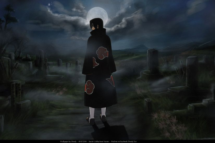 Anime - Naruto Itachi Uchiha Wallpaper