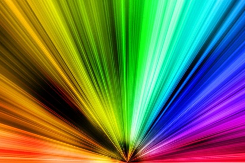 High Quality Color Spectrum and Rainbow Wallpapers