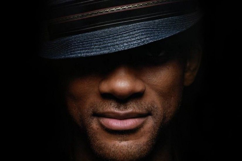 Preview wallpaper will smith, actor, hat, face, smile 1920x1080