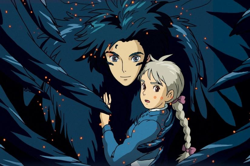 download howls moving castle wallpaper 1920x1080