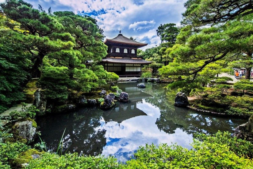 Japanese garden wallpapers backgrounds desktop wallpapers japanese - Temple  Pond Car Garden Japanese Beautiful Views