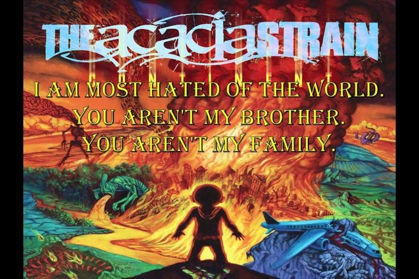 The Acacia Strain Lyric Wallpaper The Acacia Strain Balboa
