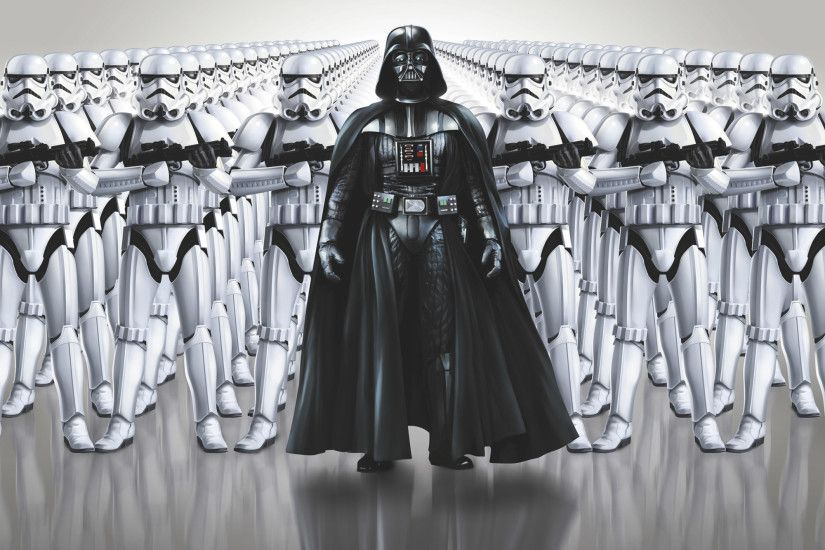 8-490 Star Wars Imperial Force - Darth Vader and the stormtroopers are  ready for
