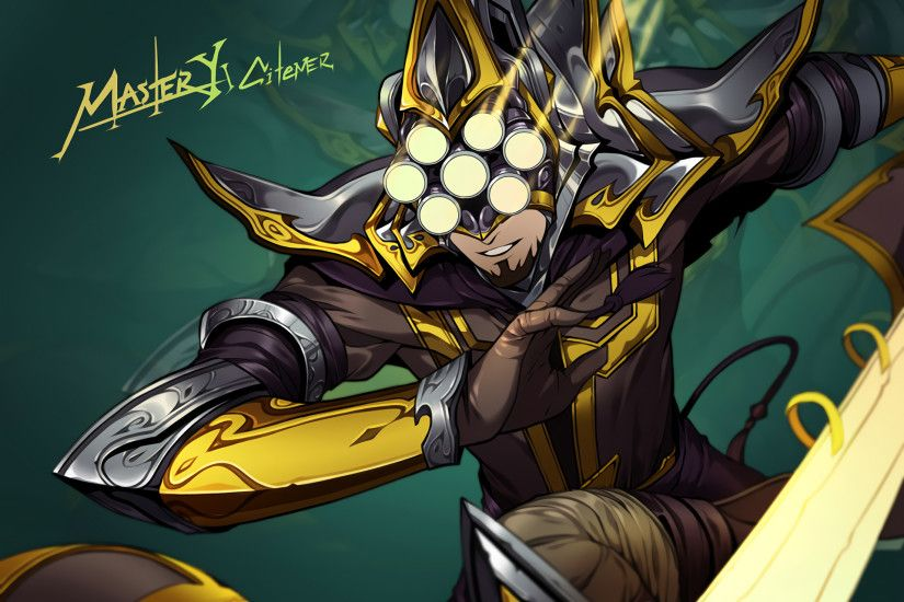 Master Yi by citemer HD Wallpaper Fan Art Artwork League of Legends lol