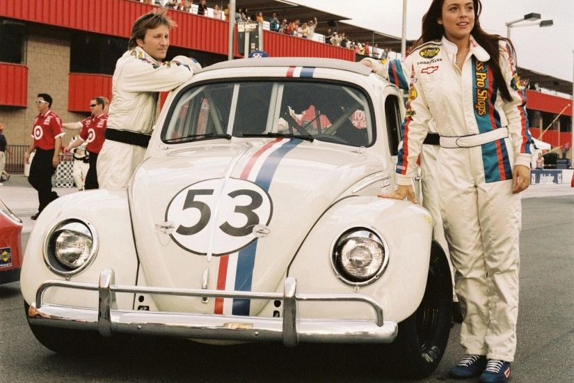 HD 2005 Volkswagen Beetle Herbie Movie Bug Concept High Quality Wallpaper