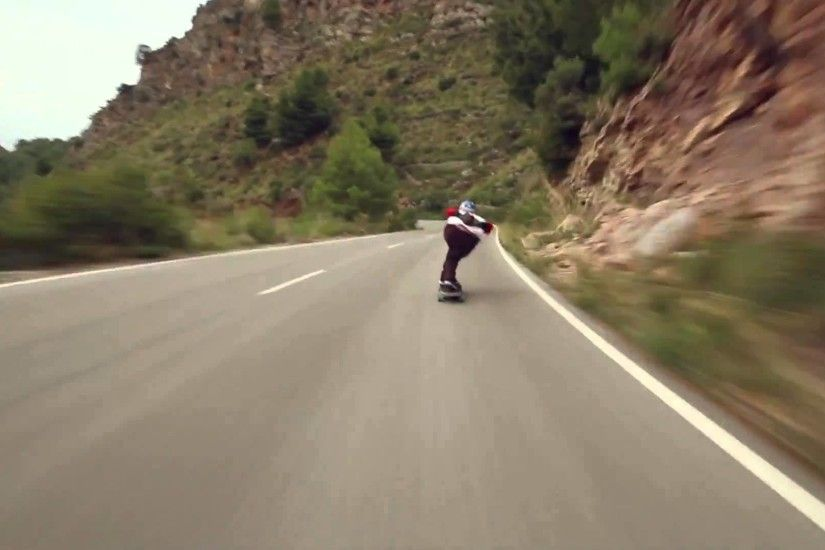 DB Longboards: Toni Conte's Spain downhill run