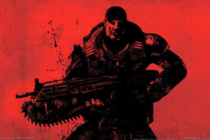 22+ Awesome 3D Game Wallpapers – Gears of War - Downloads - TechMynd