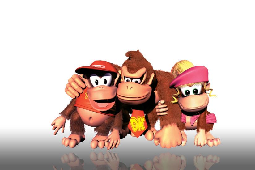 Video Game - Donkey Kong Country 2: Diddy's Kong Quest Wallpaper