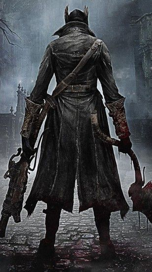 Preview wallpaper bloodborne, from software, playstation 4, ps4, 2015  1440x2560