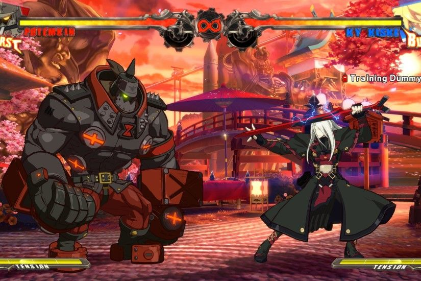 This is how Guilty Gear Xrd looks on PC at 4K resolution