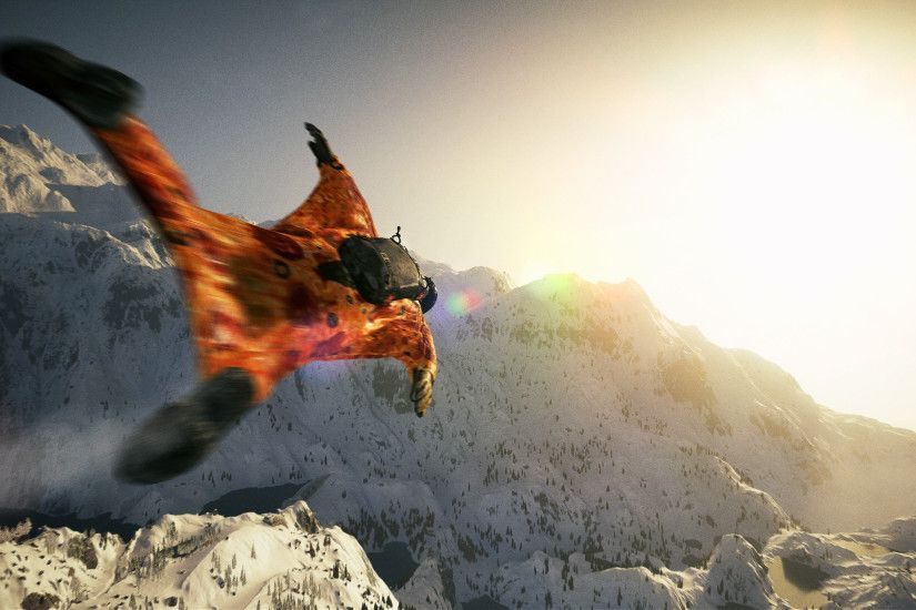 Steep Wing Suit 4k 2017 Game
