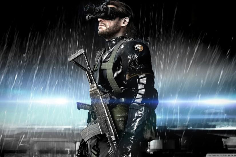 Metal Gear Solid Ground Zeroes Wallpaper 1920x1080 Metal, Gear, Solid .
