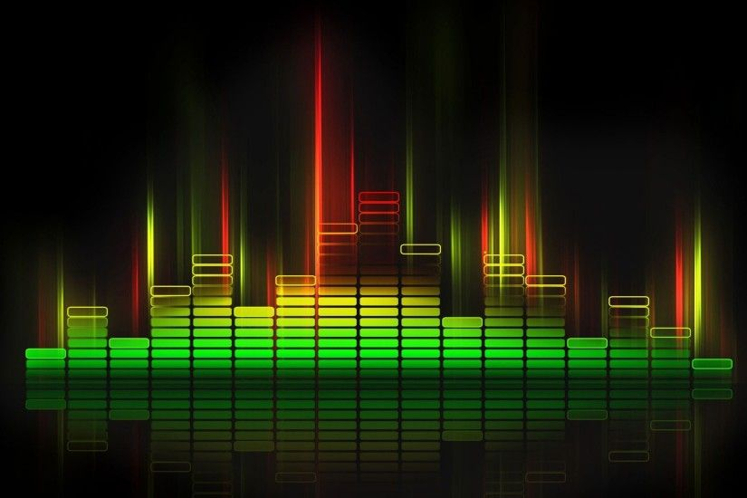 Equalize Sound Wave HD Wallpaper| Nine Wallpaper