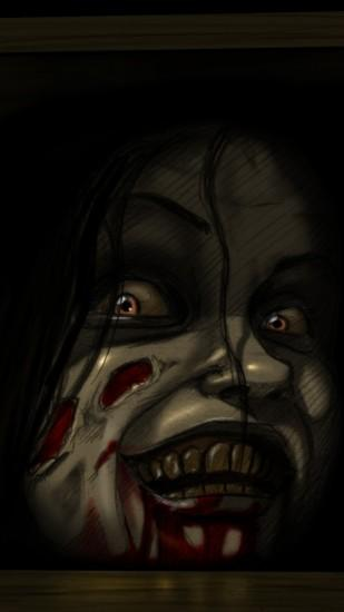 Preview wallpaper the evil dead, horror, mia 1080x1920