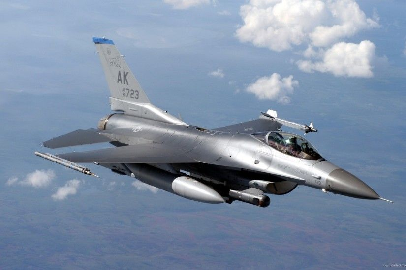 General Dynamics F-16 Fighting Falcon In The Sky picture