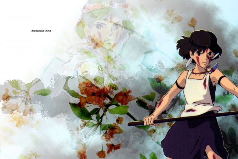 princess mononoke, girl, sword