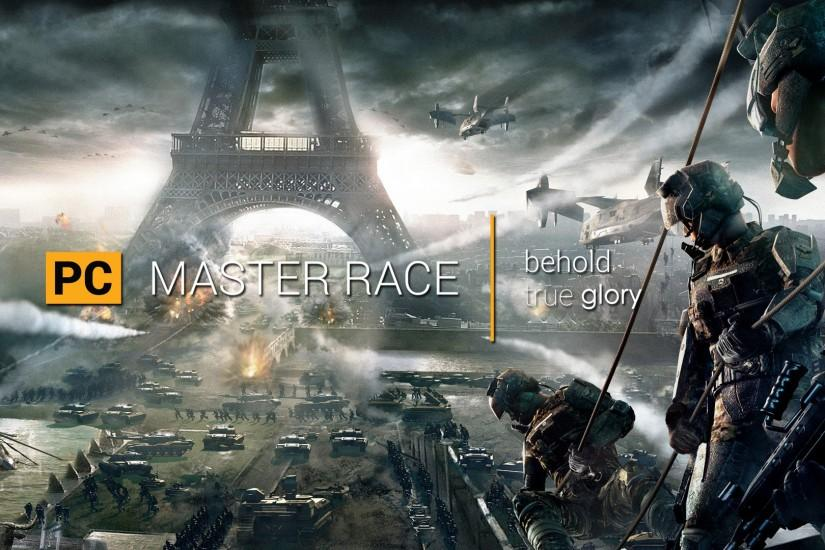 vertical pc master race wallpaper 1920x1080 for hd