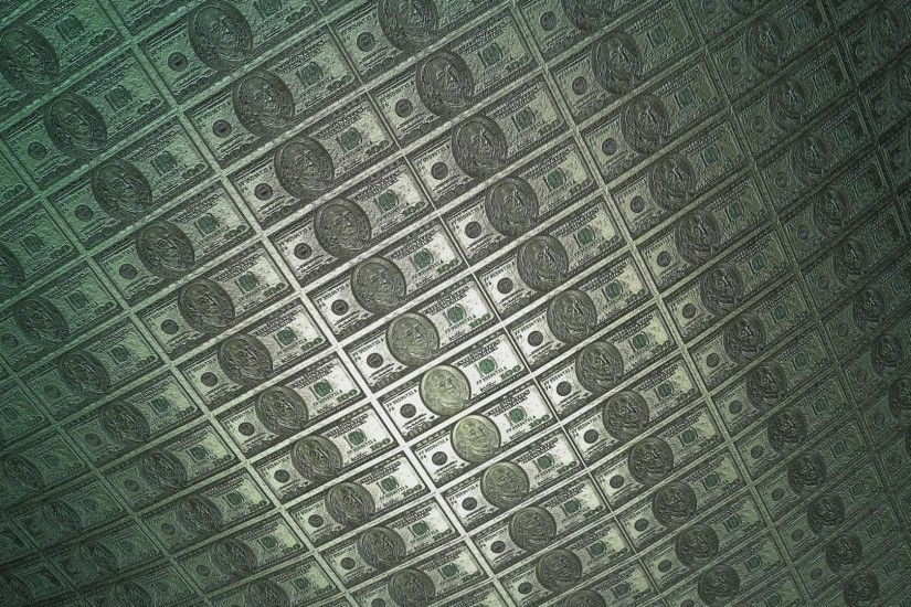 60FPS 100$ Dollar Bill Franklin Metal Roll 1080p Background Animation