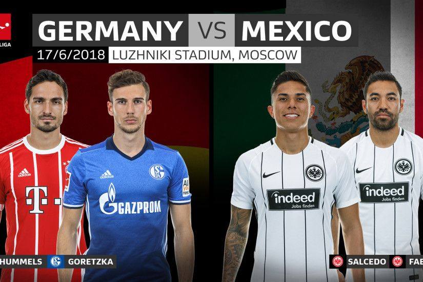 Germany to face Mexico, South Korea and Sweden at 2018 FIFA World Cup |  bundesliga.com