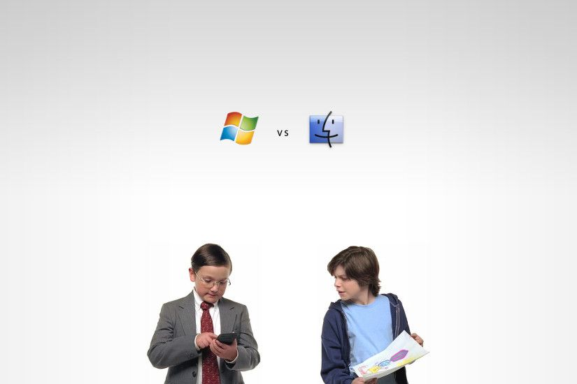 ... Windows Vs. Mac by LinuxBeast