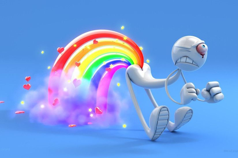 3d animated love images HD wallpaper - 3D Love