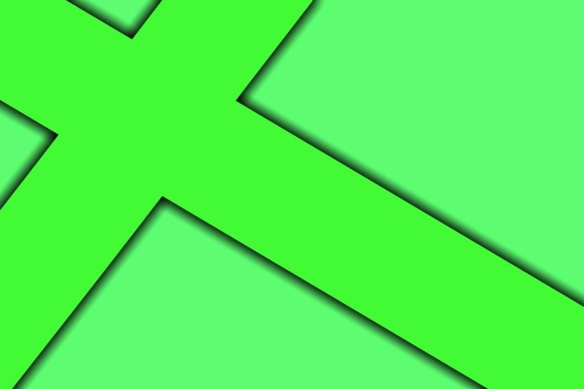 Cross-wallpaper-green-background