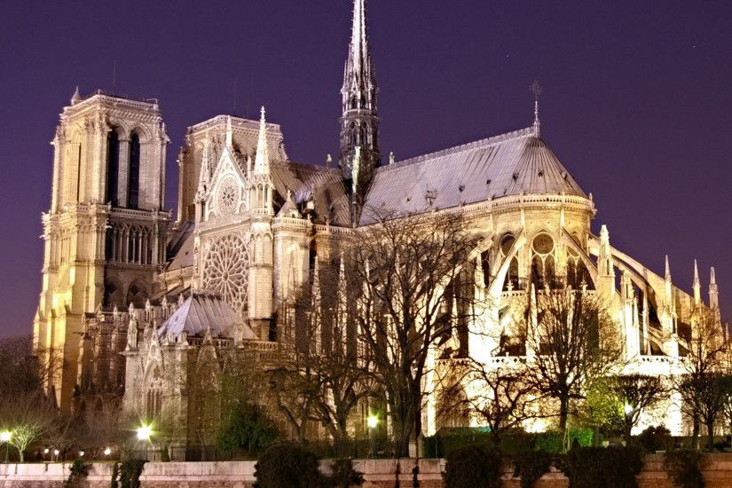 Notre Dame Cathedral Images Wallpaper