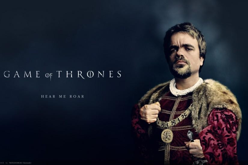 Games of Thrones Tyrion Background HD Wallpaper
