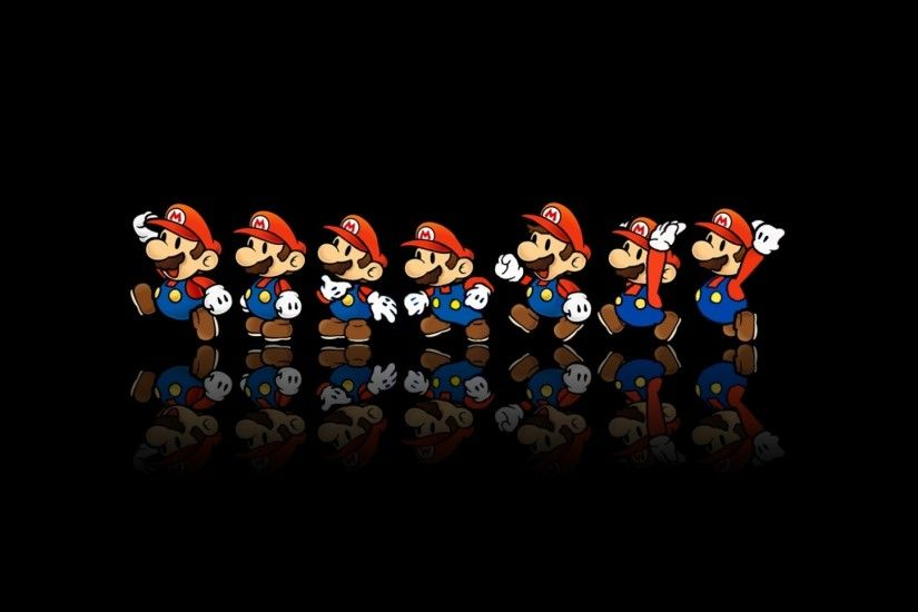 Download-1920x1080-mario-reflection-mustache-cap-Full-wallpaper-