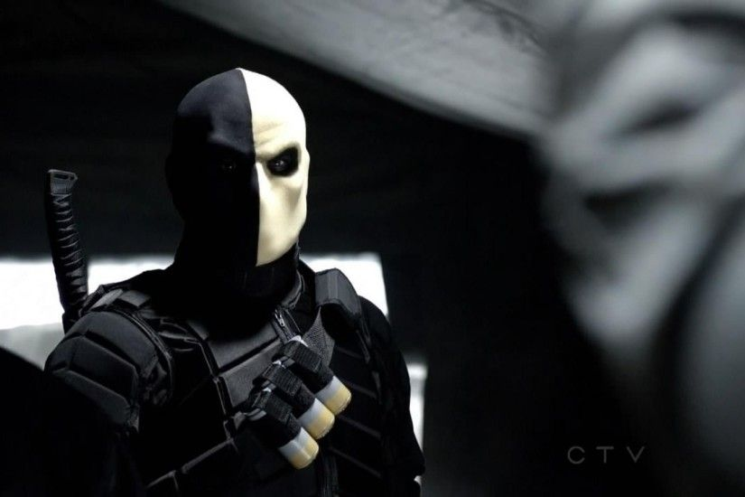 Green arrow arrows tv series deathstroke widescreen wallpaper .