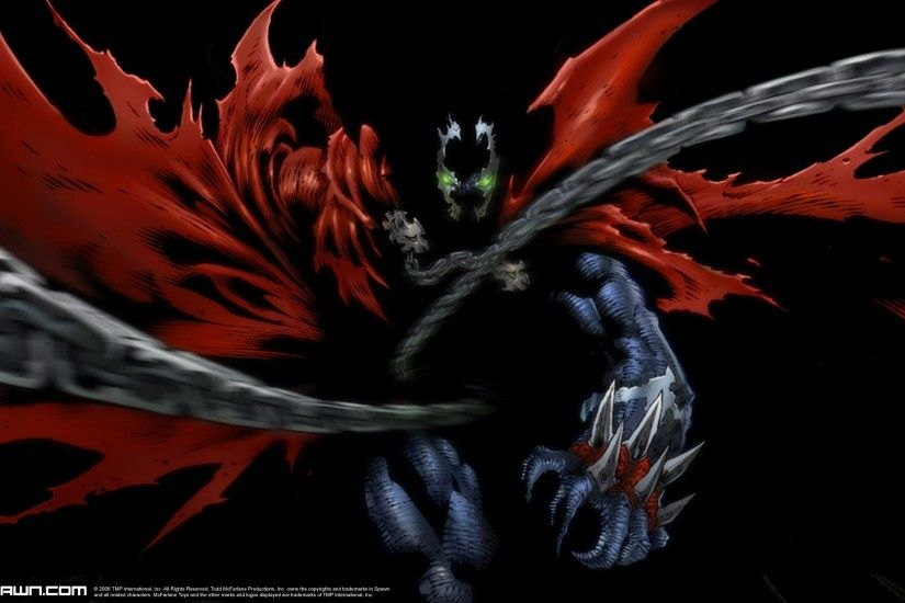 Superhero from Hell : Spawn Comics - Interior Art of Spawn Wallpaper 13