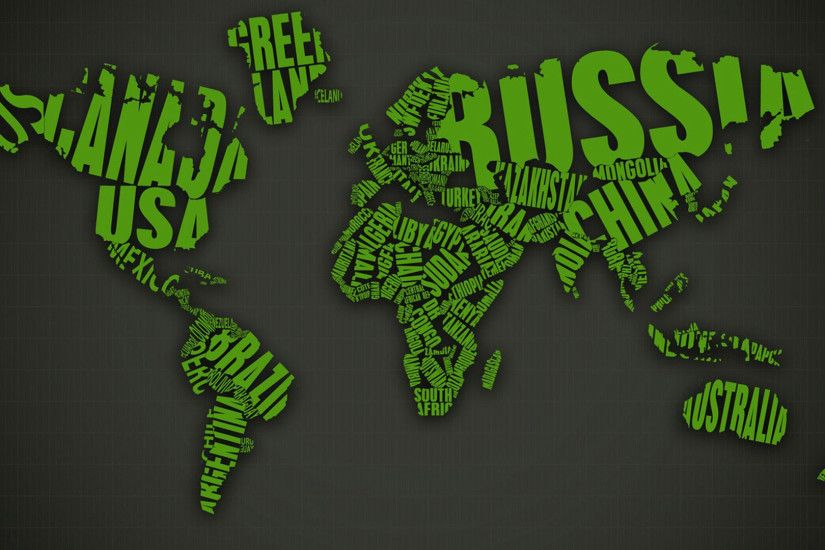 World map desktop background hd pics photos green text world map hd quality desktop background wallpaper gumiabroncs Image collections