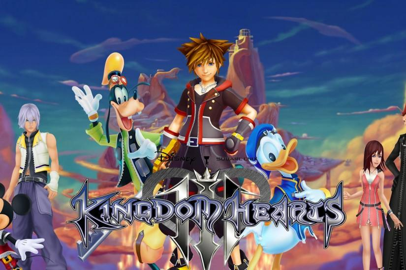 ... Kingdom Hearts III Wallpaper by The-Dark-Mamba-995