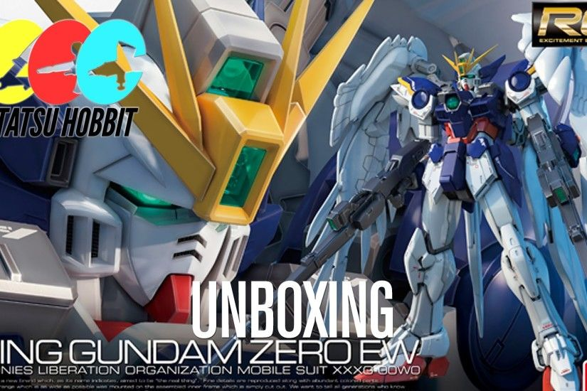 RG Wing Zero Custom ウイングガンダムゼロ UNBOXING - Mobile Suit Gundam Wing Endless  Waltz
