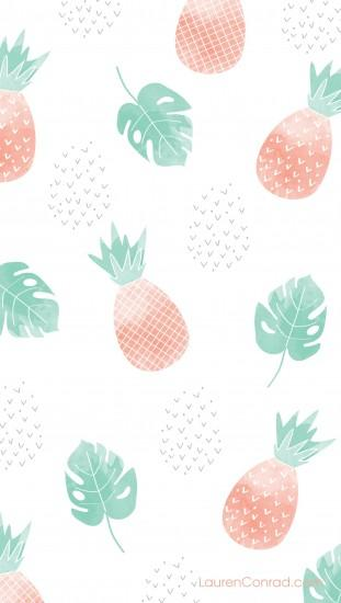 pineapple wallpaper 1928x3407 for mobile