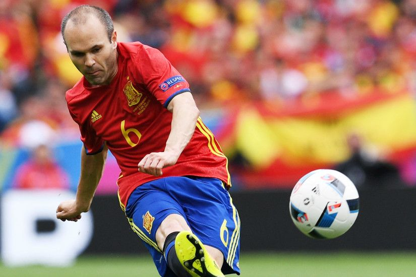 Awesome Andres Iniesta HD Image
