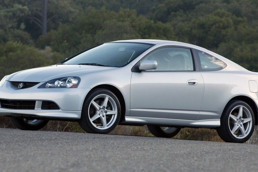 1920x1080 Wallpaper acura, rsx, silver metallic, side view, style, cars,