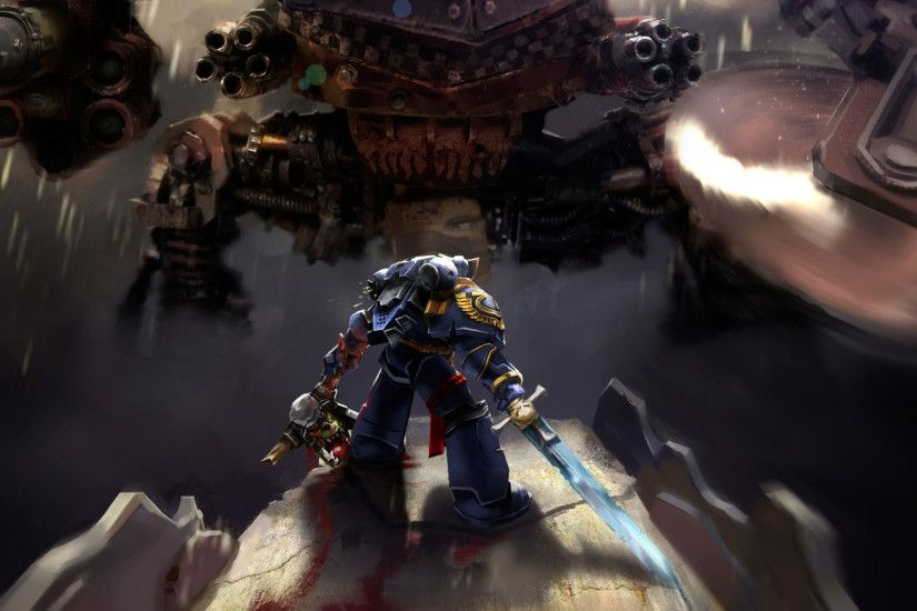 Warhammer 40k Space Marine Ultramarines (Laptop Full HD 1080P)