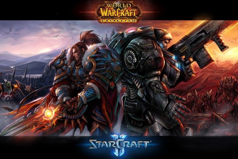 Starcraft II, World Of Warcraft, World Of Warcraft: Cataclysm Wallpapers HD  / Desktop and Mobile Backgrounds