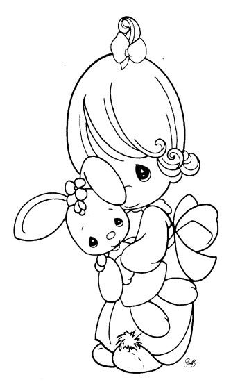 Here is a collection of some of the finest Precious Moments coloring pages,  chosen based
