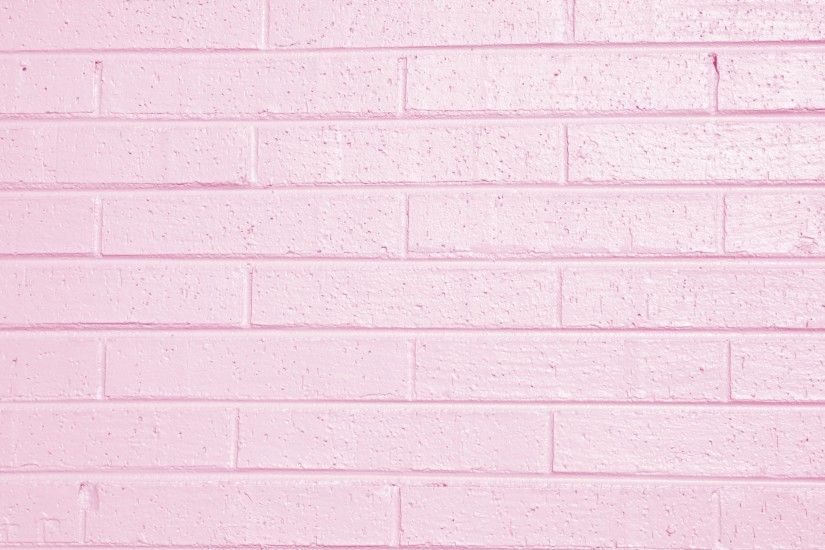 Pink Painted Brick Wall Texture Picture Free Photograph Photos