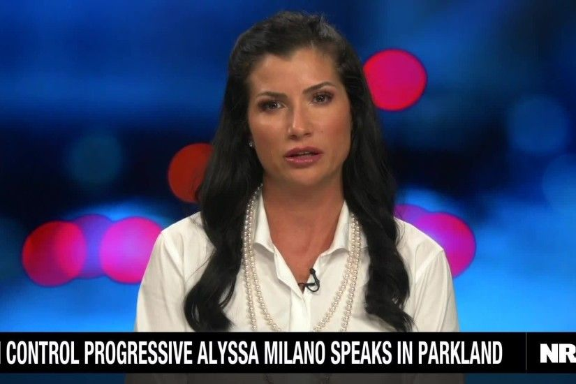 Alyssa Milano Blames The NRA. Andrew Pollack Gives Her a Reality Check.