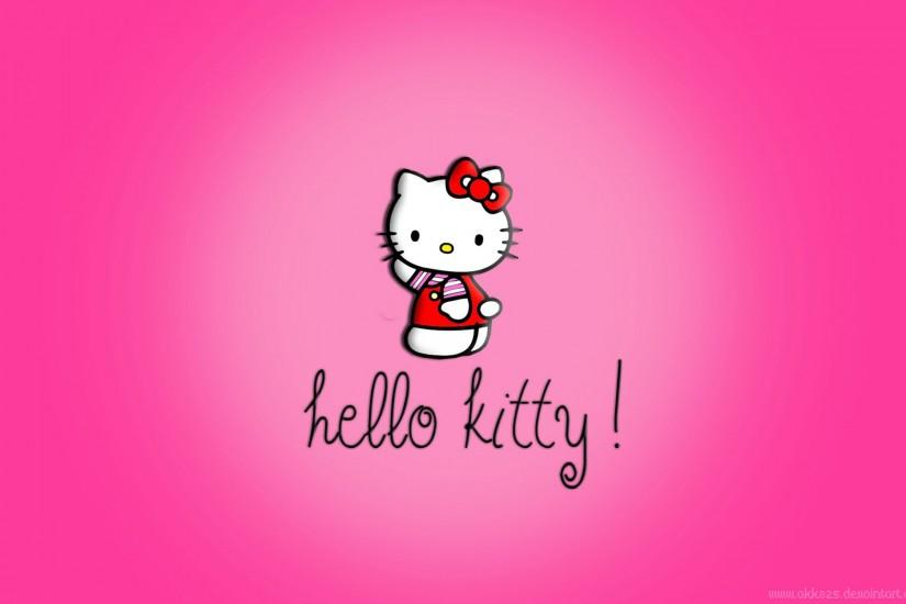 Hello Kitty Desktop Wallpaper Free download.