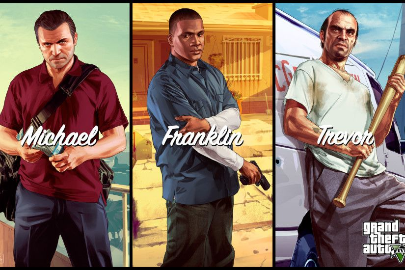 Michael Franklin Trevor in GTA 5