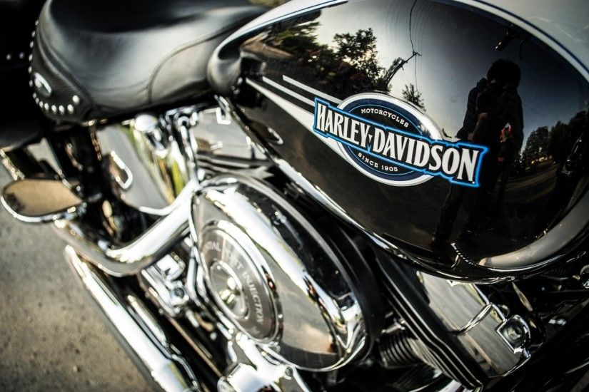 high definition harley davidson logo wallpaper